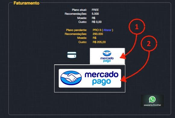 SmartHint e MercadoPago disponível para o cliente
