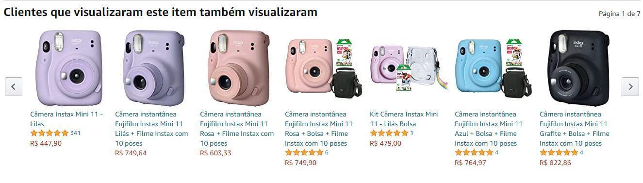 Sistema de recomendação Amazon