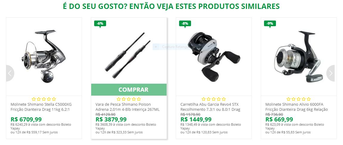 vitrine pesque brasil