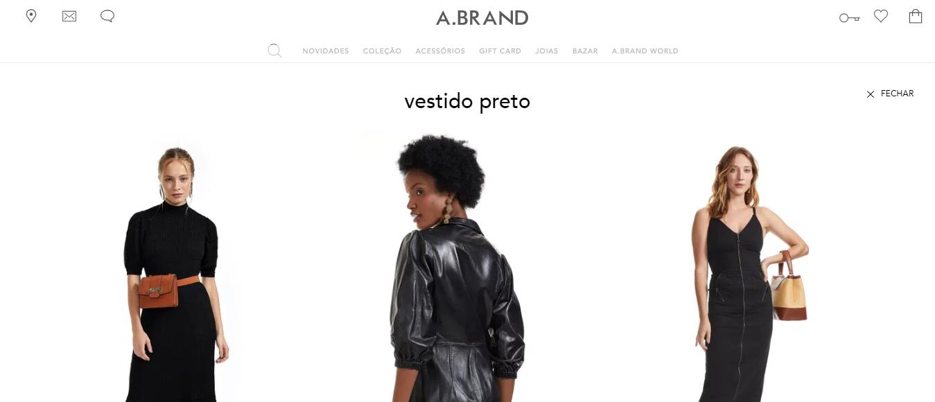 busca por cor para e-commerce